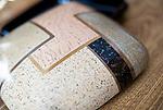 Photo shows one of the Tsugaru lacquerware products made by craftsman Tetsuyoshi Kon at Masato Kimura's atelier  in Hirosaki, Japan on 18 Jan. 2013. Photo: Robert Gilhooly..