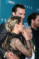 "HOLLYWOOD, CA - JULY 7: Kristen Stewart, Nicholas Hoult, Jacki Weaver, Drake Doremus at the ""Equals"" Premiere at the ArcLight Theater in Hollywood, California on July 7, 2016. Credit: David Edwards/MediaPunch"