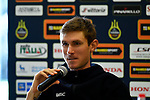 Tejay Van Garderen (USA) BMC Racing Team at the top riders press conference on the eve of the race of the two seas, 52nd Tirreno-Adriatico by NamedSport running from the 8th to 14th March, Italy. 7th March 2017.<br /> Picture: La Presse/Fabio Ferrari | Cyclefile<br /> <br /> <br /> All photos usage must carry mandatory copyright credit (&copy; Cyclefile | La Presse)