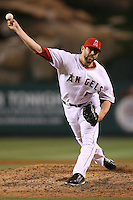 06/08/11 Anaheim, CA: Los Angeles Angels relief pitcher Jordan Walden #51 during an MLB game between the Tampa Bay Rays and The Los Angeles Angels  played at Angel Stadium. The Rays defeated the Angels 4-3 in 10 innings