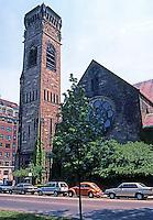 H.H. Richardson: First Baptist Church, Boston 1871. Brattle Square Church.