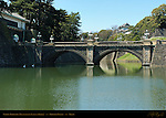 Seimon Ishibashi Main Gate Stone Bridge Meganebashi Eyeglass Bridge Imperial Palace Tokyo