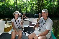 Jungle canal tour, Tortuguero, Costa Rica, Central America.