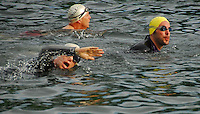 Triathlon - Yellow Swim Caps - Badger State Games '08