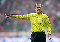 FUSSBALL   1. BUNDESLIGA  SAISON 2012/2013   23. Spieltag  FC Bayern Muenchen - SV Werder Bremen    23.02.2013 Schiedsrichter Marco Fritz