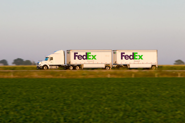 Fed Ex Freight New Trucks
