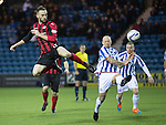 Kilmarnock v St Johnstone...06.12.14   SPFL<br /> James McFadden hits the bar with this flick from a corner<br /> Picture by Graeme Hart.<br /> Copyright Perthshire Picture Agency<br /> Tel: 01738 623350  Mobile: 07990 594431