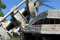 Damaged building, Port-au-Prince, Haiti. EDV is committed to affecting permanent change in disaster-affected communities worldwide. Their role is to facilitate personal connections between volunteers and the survivors of disasters.  The charity is based on a proven model developed by several landmark organisations that have paved the way for citizens to become disaster volunteers. These landmark organisations have shown that supposedly ordinary people working together with the guidance of knowledgeable leaders can make an extraordinary difference in the lives of those affected by disaster..EDV believe that to provide meaningful relief and reconstruction assistance to disaster affected communities they have to do more than reconstruct buildings. They need to understand and address the factors that made a community vulnerable to the disaster in the first place. The charity's work is organised with these factors in mind so that they can affect change that far outlives their presence..EDV believes that survivor motivation is essential to the recovery of any disaster-affected community. Their operations will always be predicated on the idea that survivors may be traumatised, but they are not helpless. With this in mind, EDV encourages host communities to direct their own recovery. EDV believe that this empowerment is essential in helping survivors feel a renewed sense of control over their lives which will, in turn, help overcome the feelings of hopelessness that can follow a disaster and inhibit long term recovery. EDV also believe that social cohesion is of primary importance in any disaster-affected area. No amount of bricks or mortar will bring about sustainable improvement if communities fail to come together or are disrupted by relief efforts. Therefore, their operations will always aim to foster communication and cooperation within and between the communities they serve.