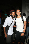 PROJECT RUNWAY DESIGNER EPPERSON AND Epperson AND GUEST ATTEND BET AND CENTRIC PRESENTS THE FIRST ANNUAL BET ON FASHION PRESENTATION