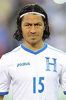 Washington, D.C.- May 29, 2014.  Honduras midfielder Roger Ezpinoza. Turkey defeated Honduras 2-0 during an international friendly game at RFK Stadium.
