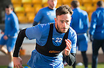 St Johnstone Training&hellip;.17.02.17<br />Keith Watson pictured during training this morning at McDiarmid Park ahead of tomorrow&rsquo;s trip to Dingwall<br />Picture by Graeme Hart.<br />Copyright Perthshire Picture Agency<br />Tel: 01738 623350  Mobile: 07990 594431