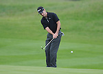 Scott Strange chips onto the green at the 2nd. Celtic Manor Wales Open 2008 © IJC Photography 2008, iancook@ijcphotography.co.uk..
