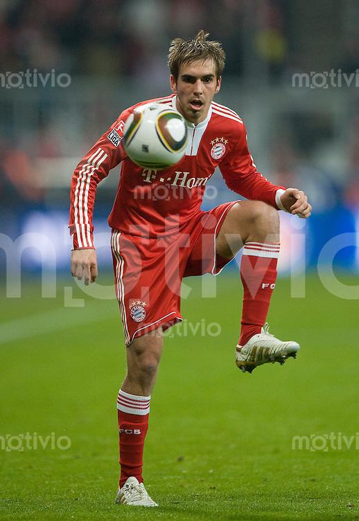 Fussball Bundesliga 2009/2010 FC Bayern Muenchen - TSG Hoffenheim Philipp LAHM (FCB).
