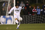 11 December 2009: Akron's Chad Barson. The University of Akron Zips defeated the University of North Carolina Tar Heels 5-4 on penalty kicks after the game ended in a 0-0 overtime tie at WakeMed Soccer Stadium in Cary, North Carolina in an NCAA Division I Men's College Cup Semifinal game.