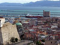 GIU 2010 Sardegna, Cagliari dal Castello.JUN 2010 Sardinia, Cagliari