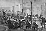 Military Court Trial of the Lincoln conspirators. President Lincoln's Assassination. Harper's Weekly, Saturday June 3, 1865 .