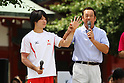 (L to R) Kohei Uchimura, Shinji Morisue, JULY 30, 2011 - : Tokyo Sports Town 2011 at Senso-ji, Tokyo, Japan. (Photo by YUTAKA/AFLO SPORT) [1040]