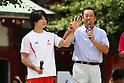 (L to R) Kohei Uchimura, Shinji Morisue, JULY 30, 2011 - : Tokyo Sports Town 2011 at Senso-ji, Tokyo, Japan. (Photo by YUTAKA/AFLO SPORT) [1040]