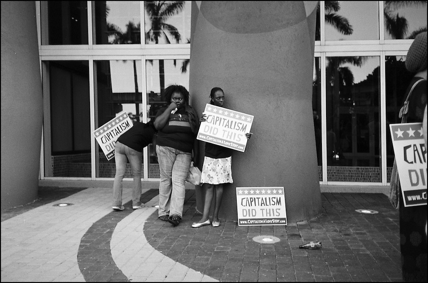 Capitalism did this<br /> From &quot;Miami in Black and White&quot; series, Miami, FL, 2009