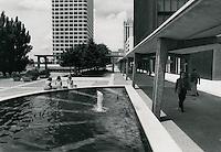 1970 June 10..Redevelopment...Downtown South (R-9)..Downtown Financial District.looking West toward Main Street, Virginia National Bank building..Millard Arnold.NEG# MDA70-64-14.NRHA#..