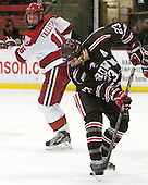 Garnet Hathaway (Brown - 23) - The Harvard University Crimson defeated the visiting Brown University Bears 3-2 on Friday, November 2, 2012, at the Bright Hockey Center in Boston, Massachusetts.