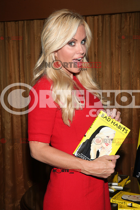 NEW YORK, NY - OCTOBER 3: Hudson Union Society presents Jenny McCarthy as she discusses her new book 'BAD HABITS: Confessions of a Recovering Catholic' in New York City. October 3, 2012. &copy; Diego Corredor/MediaPunch Inc. /&Acirc;&copy;NortePhoto .<br />