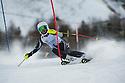 4/1/2017 under 14 girls slalom run 1