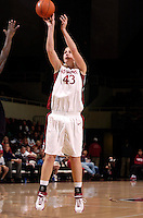 21 November 2006: Stanford Cardinal Kristen Newlin during Stanford's 75-60 win against the Missouri Tigers at Maples Pavilion in Stanford, CA.