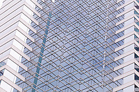 Looking closely at the fa&ccedil;ade of Pacific Place in Wanchai, Hong Kong, can play tricks with your eyes