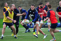 Zach Mercer of Bath Rugby in action. Bath Rugby training session on November 22, 2016 at Farleigh House in Bath, England. Photo by: Patrick Khachfe / Onside Images