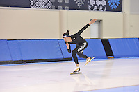 SPEED SKATING: SALT LAKE CITY: 18-11-2015, Utah Olympic Oval, ISU World Cup, training, Brittany Bowe (USA), ©foto Martin de Jong