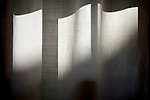 Highlights and shadows on a curtain