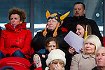 Doncaster Rovers Belles 1 Chelsea Ladies 4, 20/03/2016. Keepmoat Stadium, Womens FA Cup. Doncaster fans. Photo by Paul Thompson.