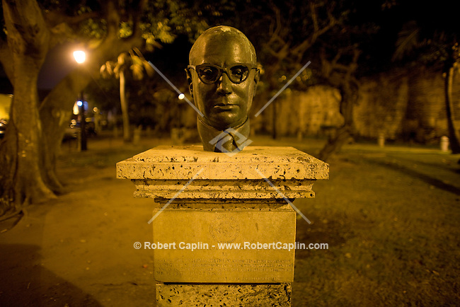 Statue. Cartagena, Colombia ..Photo by Robert Caplin..