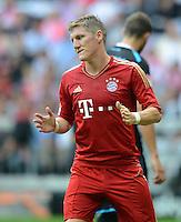 FUSSBALL   1. BUNDESLIGA  SAISON 2012/2013   7. Spieltag FC Bayern Muenchen - TSG Hoffenheim    06.10.2012 Bastian Schweinsteiger (FC Bayern Muenchen)