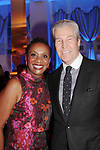 Candace Matthews and Terry Lundgren - Figure Skating in Harlem celebrates 20 years - Champions in Life benefit Gala on May 2, 2017 at 583 Park Avenue, New York City, New York. (Photo by Sue Coflin/Max Photos)