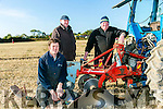 Richard O'Mahony, Liam O'Mahony and Christy O'Mahony, Ballyheigue at the Abbeydorney Ploughing Match  at Corridan's Farm, Ballysheen on Sunday