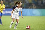21 August 2008: Heather O'Reilly (USA). The United States Women's National Team defeated Brazil's Women's National Team 1-0 after extra time at the Worker's Stadium in Beijing, China in the Gold Medal match in the Women's Olympic Football tournament.