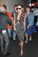 Alicia Vikander Seen In New York City