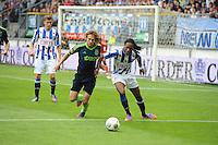 VOETBAL: HEERENVEEN: Abe Lenstra Stadion, 02-09-2012, Eredivisie 2012-2013, SC Heerenveen - Ajax, Eindstand 2-2, Daley Blind (#17), Arsenio Valpoort (#29), ©foto Martin de Jong