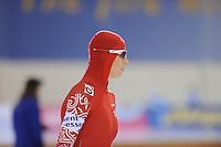 SCHAATSEN: SALT LAKE CITY: Utah Olympic Oval, 15-11-2013, Essent ISU World Cup, 500m, Yekaterina Lobysheva (RUS), ©foto Martin de Jong