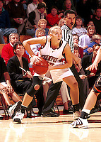 STANFORD, CA - JANUARY 13: Lauren St. Clair of the Stanford Cardinal during Stanford's 78-58 win over the Oregon State Beavers on January 13, 2000 at Maples Pavilion in Stanford, California.
