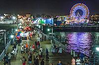 Santa Monica Pier, Saturday, September 20, 2014.
