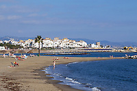 Beach, Puerto Banus, Marbella, Spain, November 2015, 20151111801<br />