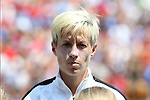 16 August 2015: Megan Rapinoe (USA). The United States Women's National Team played the Costa Rica Women's National Team at Heinz Field in Pittsburgh, Pennsylvania in an women's international friendly soccer game. The U.S. won the game 8-0.