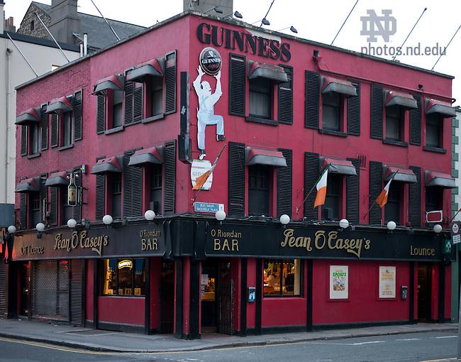 Dublin Pub..Photo by Matt Cashore/University of Notre Dame