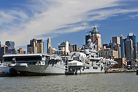 Intrepid Sea-Air-Space Museum, Hudson River, Manhattan, New York City, New York, USA