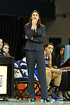 25 November 2012: UNC Asheville head coach Brenda Mock Kirkpatrick. The University of North Carolina Tar Heels played the UNC Asheville Bulldogs at Carmichael Arena in Chapel Hill, North Carolina in an NCAA Division I Women's Basketball game. UNC won the game 101-42.