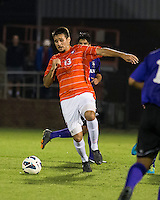 The number 24 ranked Furman Paladins took on the number 20 ranked Clemson Tigers in an inter-conference game at Clemson's Riggs Field.  Furman defeated Clemson 2-1.  Thalse De Mello Moreno (13)