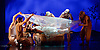 Snow White <br /> Ballet Lorent at Sadlers Wells, London, Great Britain <br /> 25th March 2016 <br /> Rehearsal <br /> <br /> artistic director Viv Lorent MBE <br /> <br /> <br /> Natalie Trewinnard as Snow White <br /> <br /> <br /> <br /> Photograph by Elliott Franks <br /> Image licensed to Elliott Franks Photography Services